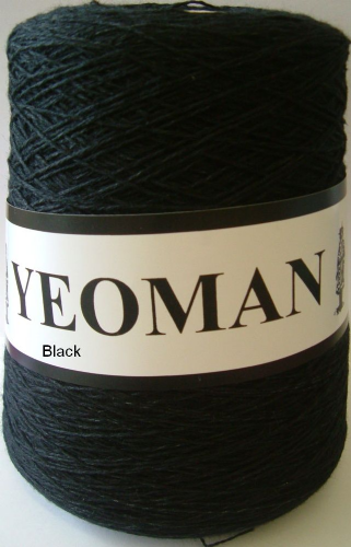 Yeoman Panama Yarn - Black